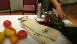 The Seeds of Freedom Panel brought goodies for guests to take away