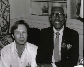 Walter Neagle with Bayard Rustin